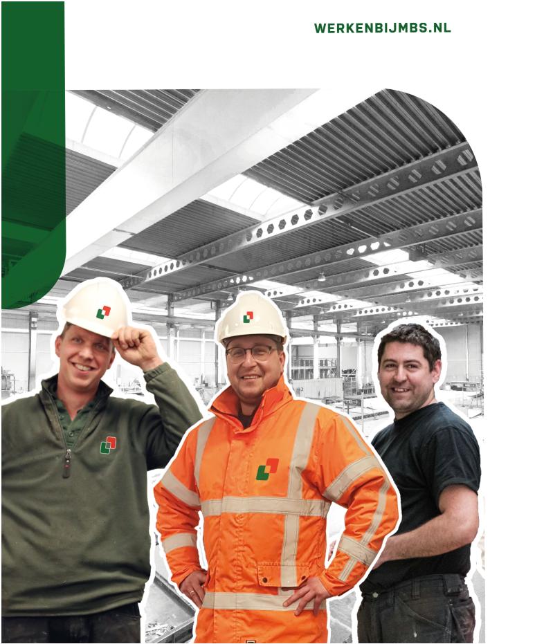 Werken in de bouw bij MBS