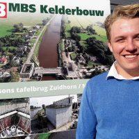 Barry Looysen stagiair bij MBS Kelderbouw 2019